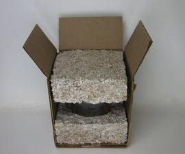 Custom Packaging Using Mushroom Foam