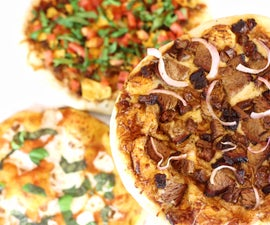 Grilled BBQ Pizza
