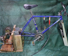Pedal Powered Battery Charger