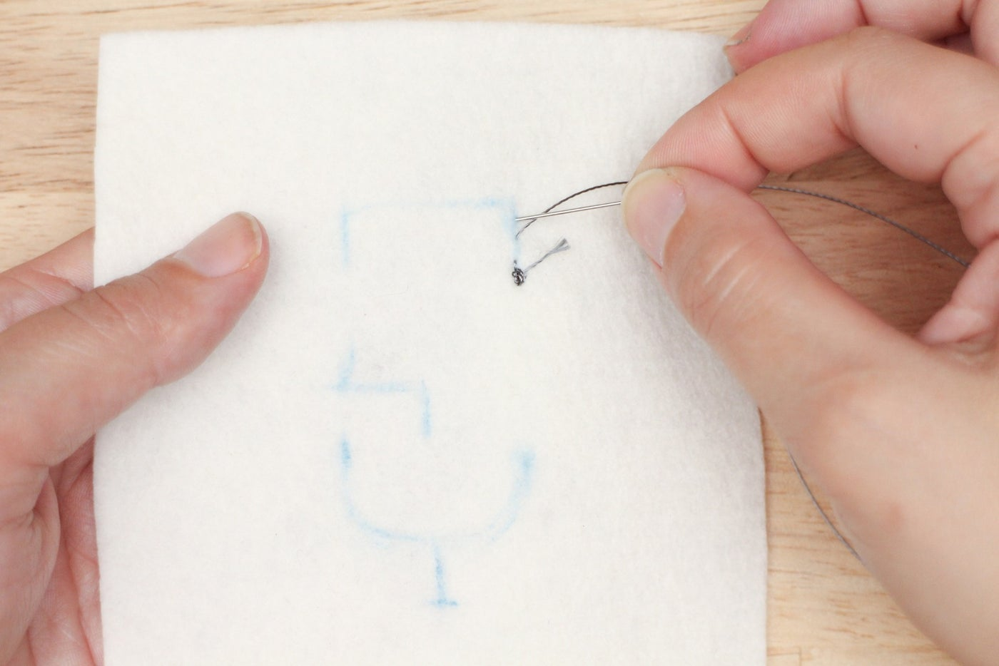 Sew and Knot First Trace