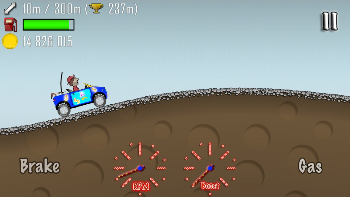Picture of Hack Hill Climb Racing Using IFile (Jailbreak Required)