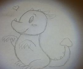 How to Draw a Cute Dragon