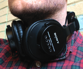 DIY Bluetooth Modification Sony MDR-7506 Headphone