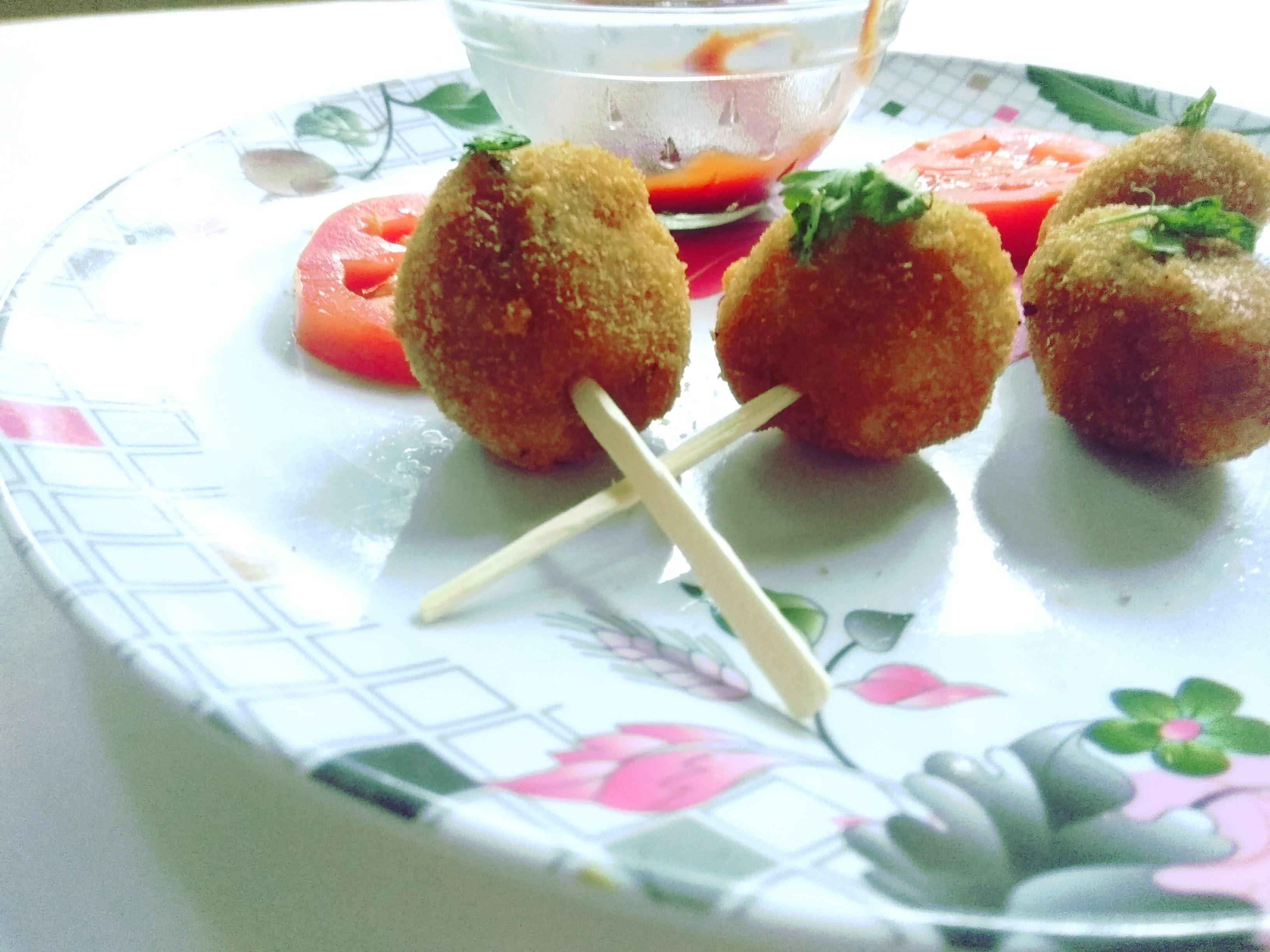 Picture of Potato Kebab Lollipops