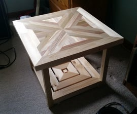 The X End Table