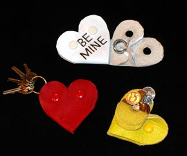 Quick & Easy No Sew Heart Shaped Valentine Gifts
