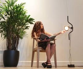 Easy Sliding Lamp