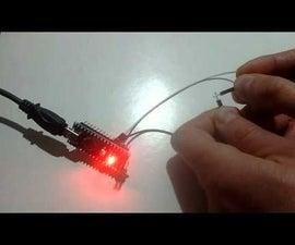 Arduino Nano: Using Pull-Up Resistor With Visuino