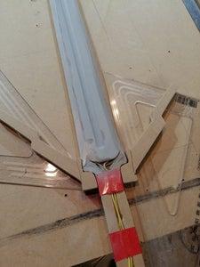 Glowing Silver Sword