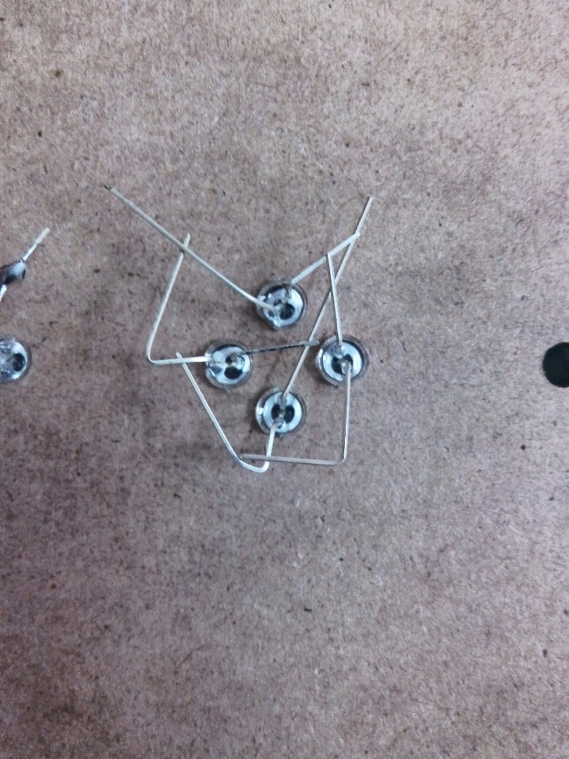 Picture of Drilling and Soldering the LEDs
