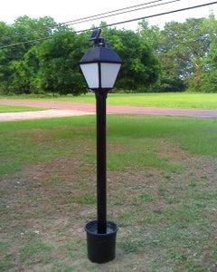 Solar Powered LED Lamp Post