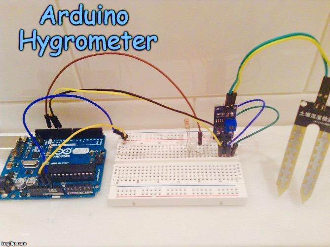 Picture of Arduino Hygrometer (Moisture Meter) Pt.1