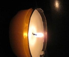 Bottle-Bottom Tea Light