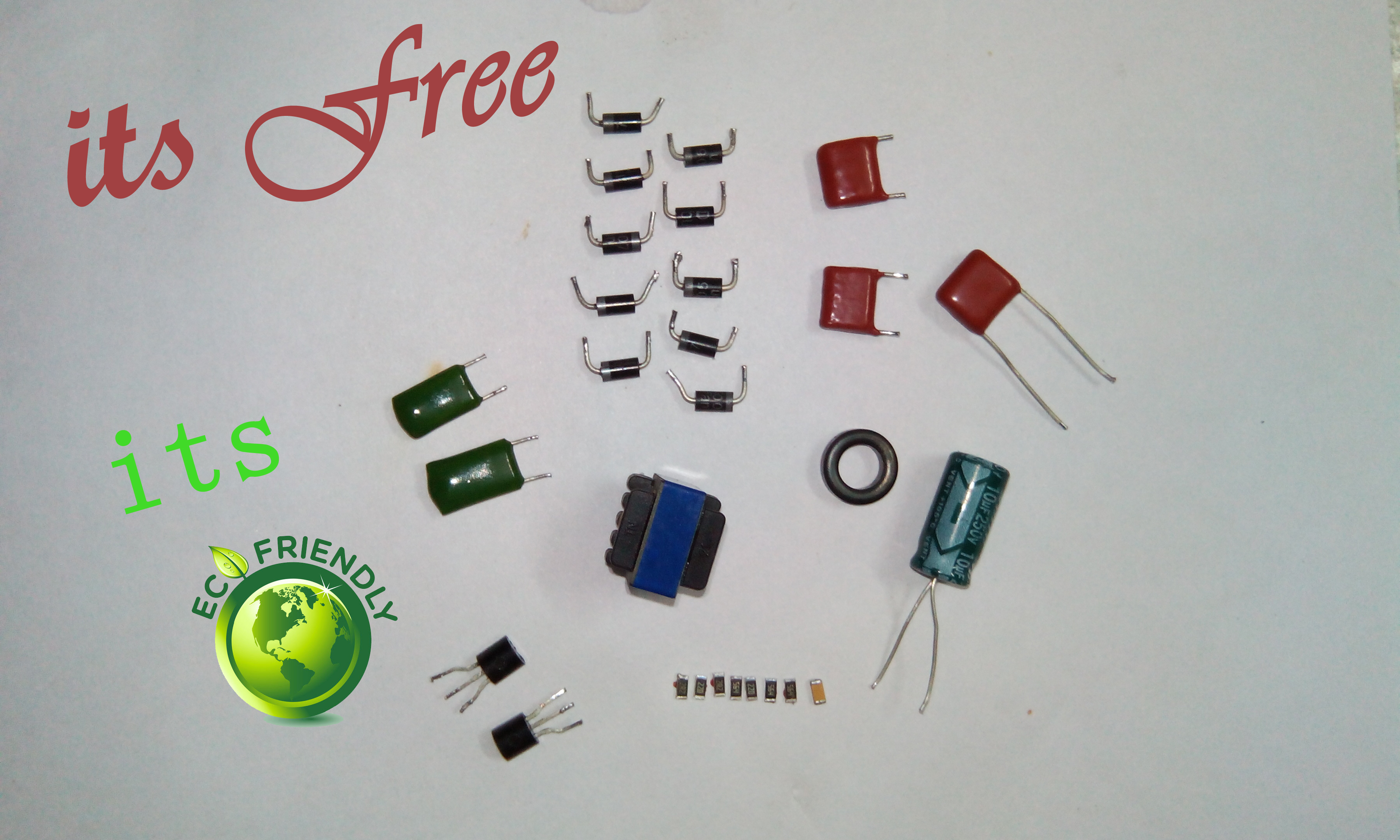 Picture of Salvage Reusable Parts From CFL and Reduce Carbon Footprint