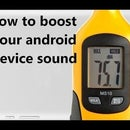 How to Boost Your Android Device Sound