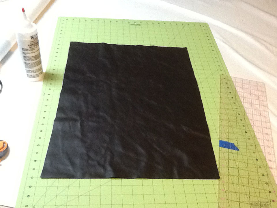 Picture of Cut Out With Rotary Cutter.