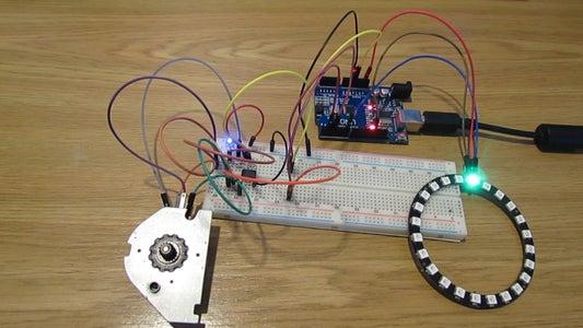 Using Stepper Motor As Rotary Encoder
