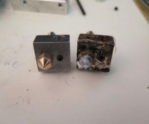 Replace Makerbot Replicator 2 Heater Block