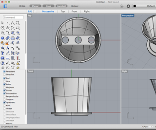 CAD Design for Coffee Filter