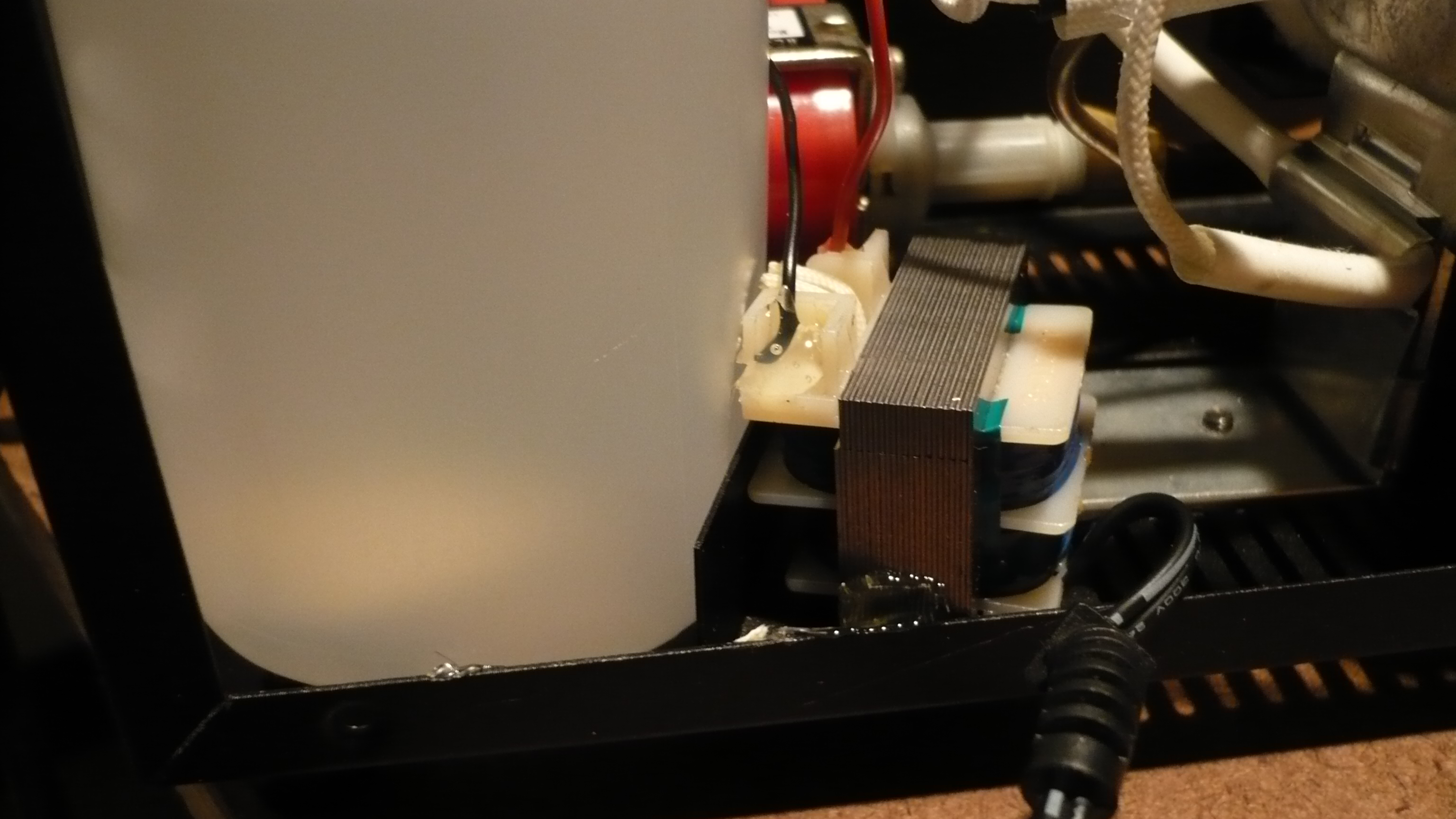 Picture of Attatch the Rectifier and LED