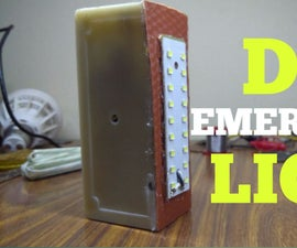 How to Make a Rechargeable Led Emergency Light
