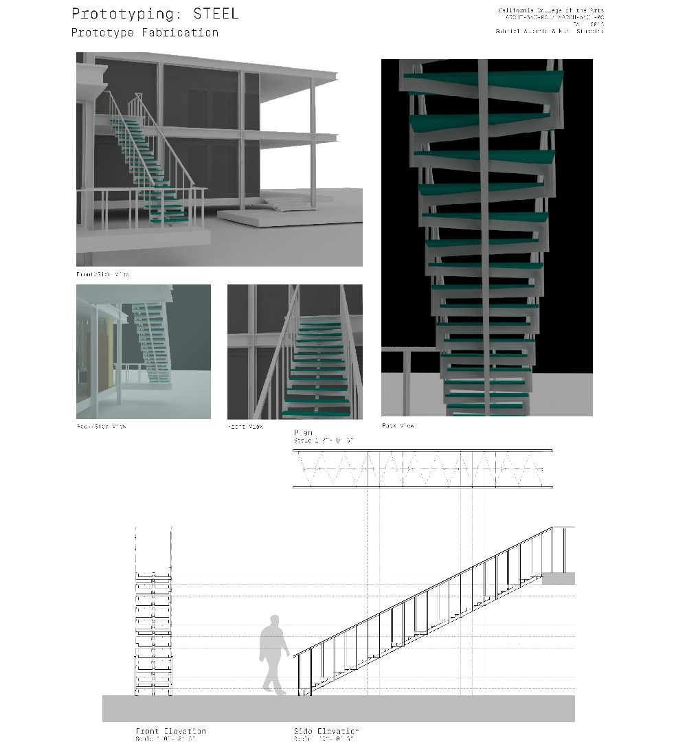 Picture of A Continuous Steel Stair