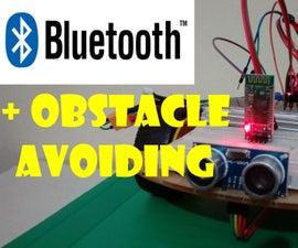 Bluetooth Controlled Robot Car Using Arduino