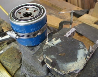 Weld Locator Tabs Around the Circumference of the Disc
