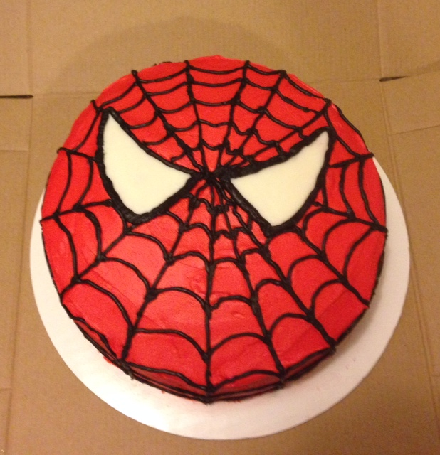 Picture of Spider-Man Cake