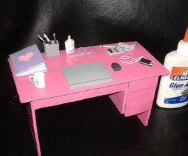 DIY Mini Study Table for Your Love Ones