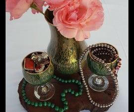 Hand Painted Unicorn Spit Vases