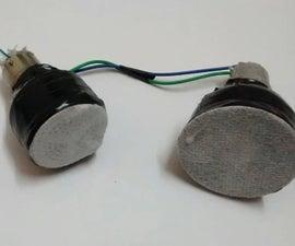 DIY Mini 2.0 Speaker Using old CFL Bulb