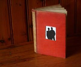 Vintage Book Frame