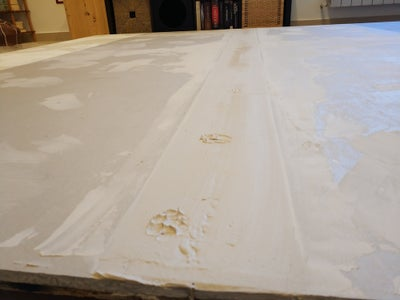 Grouting and Sealing of the Joints (Part 1)  and Painting - How to Steal a Property (part 2)