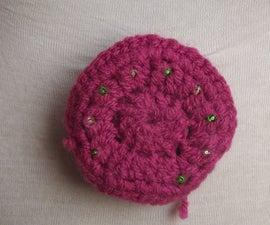 LED roulette wearable crochet