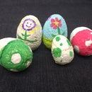 Mushroom Material Painting Eggs