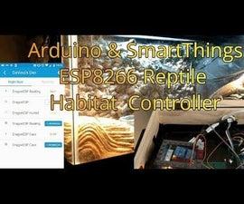ESP8266/Arduino SmartThings Bearded Dragon Habitat Controller/Monitor