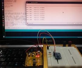 16-bit I2C Temperature Monitor Using Arduino