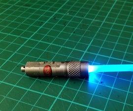 Simple Homemade Lightsaber