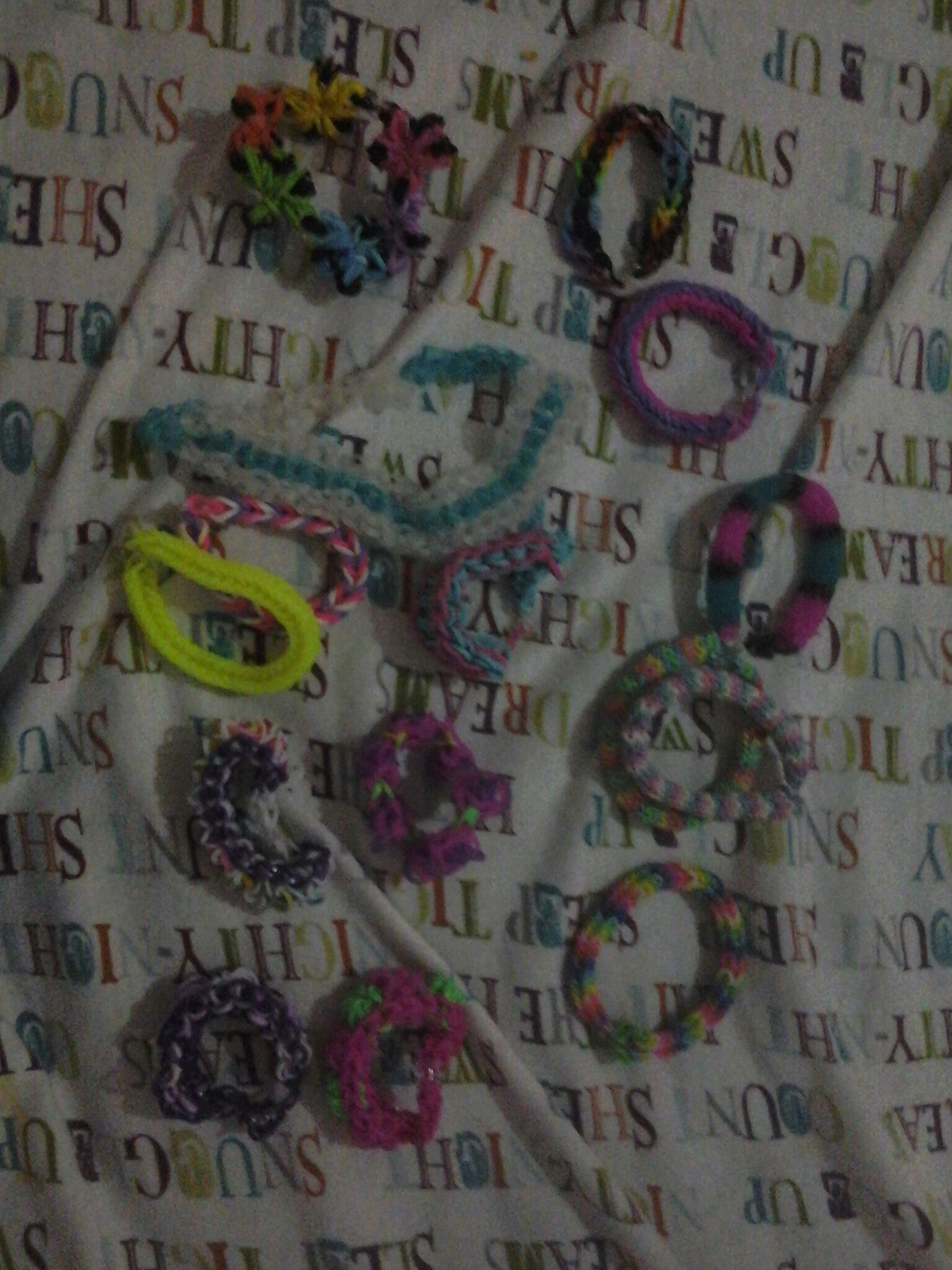 Picture of My Bracelet Collection Tell Me If You Want Tutorials