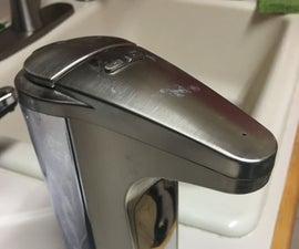 Unclogging a SimpleHuman Soap Dispenser - 414ml Version