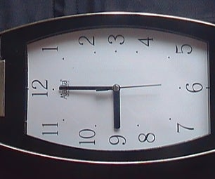Solar Powered Clock Hack