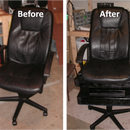 """Hack an office chair into a """"Hill Billy High Chair"""""""