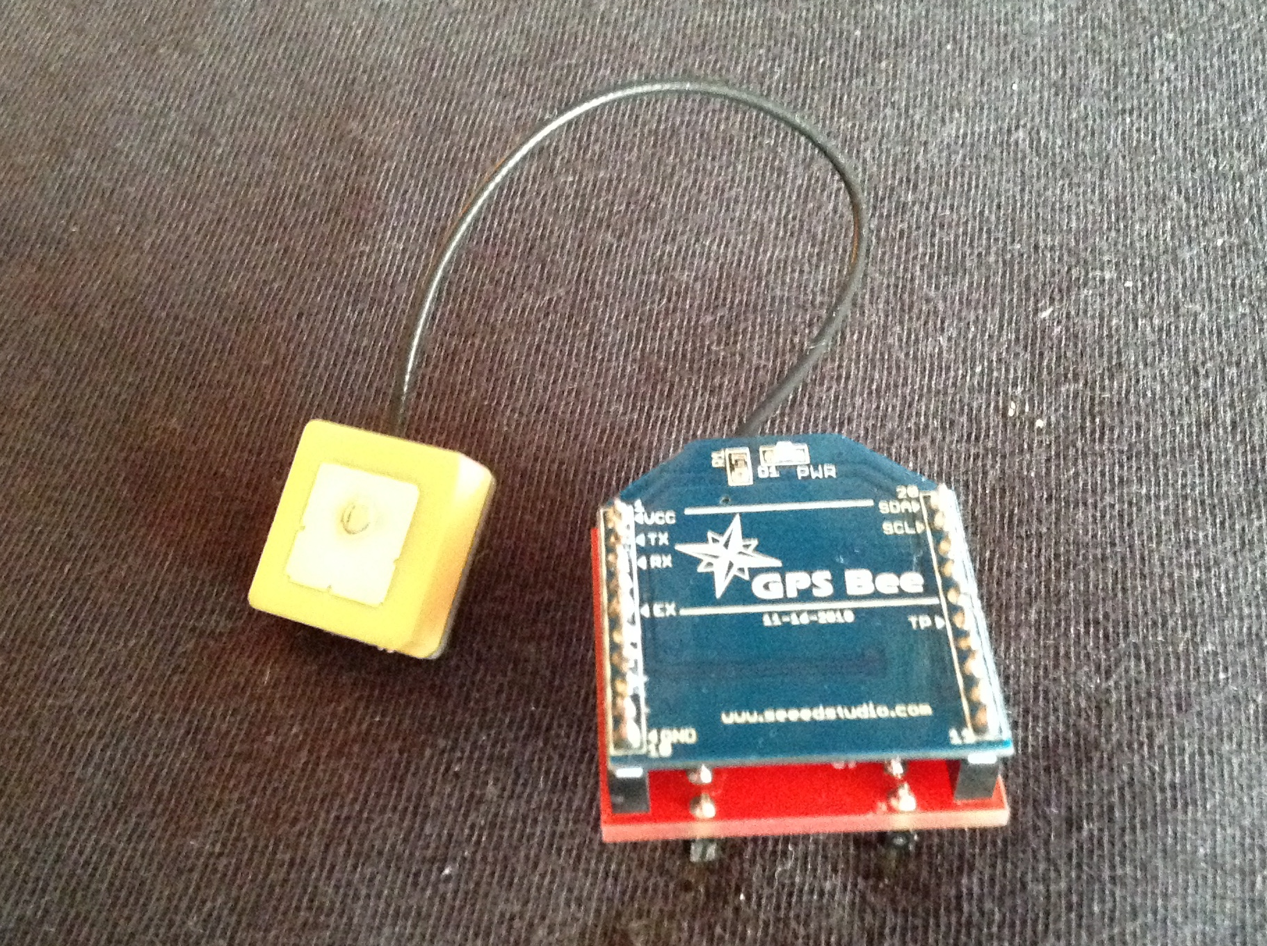 Picture of Connencting the GPS Module
