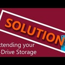 How to expand storage of a C-drive