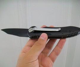 Make a Realistic Prop/Fake Knife