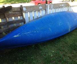 Repairing a Fiberglass Canoe
