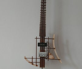 Lasercut E-Guitar