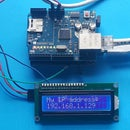 Print the IP Address on LCD From Arduino and Ethernet Shield