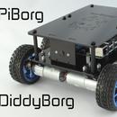 DiddyBorg: The Mini 6 wheeled Raspberry Pi Robot!